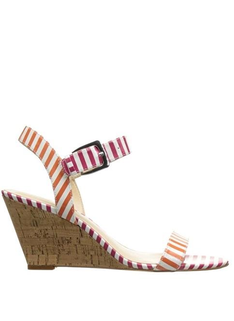 Nine West Dolgu Topuklu Ayakkabı Pembe